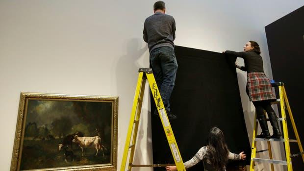 Un museo de EE.UU. cubrió o retiró el 20% de sus obras