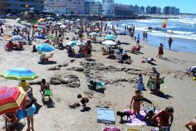 Las playas de Punta del Este como en pleno verano