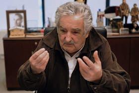 """El presidente de Uruguay, José """"Pepe"""" Mujica"""
