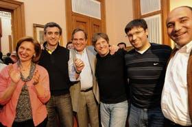 Los ministros de Economía, Amado Boudou, y del Interior, Florencio Randazzo, viajaron a Tucumán para acompañar a José Alperovich