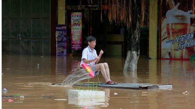 Varias ciudades han quedado bajo el agua