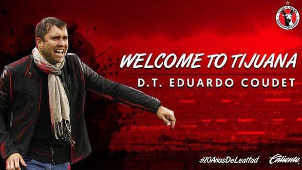 Eduardo Coudet continuará su carrera en Tijuana