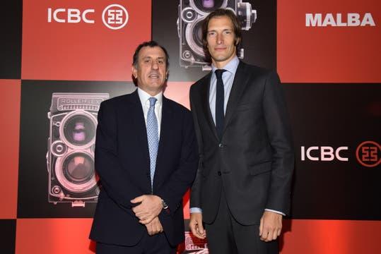 Pablo Pérez Marexiano, Director de Banca Corporativa de ICBC Argentina junto a Iván de Pineda.