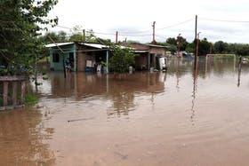Santiago del Estero sufre desde la semana pasada por el temporal