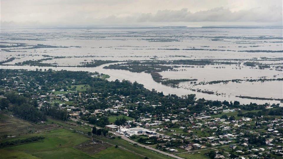 Argentina paga las inundaciones en soja