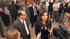 Cristina Kirchner en los Tribunales