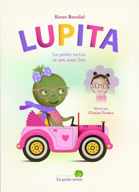 En francés - Lupita bilingüe: la tortuga es protagonista de los seis títulos publicados