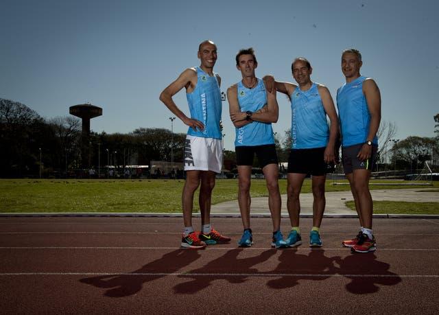Malgor, Migueles, Silio y Malgor, cuatro atletas que brillaron y hoy siguen ligados al atletismo