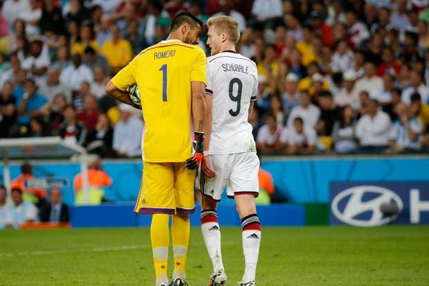 La Argentina perdió con Alemania 1-0 en la final.  Foto:LA NACION /Fabián Marelli / Enviado especial