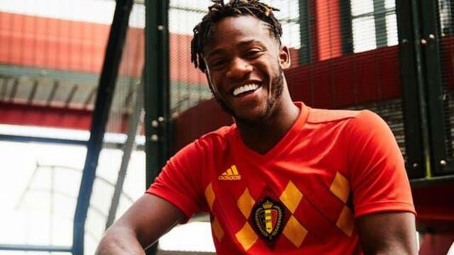 La camiseta de Bélgica