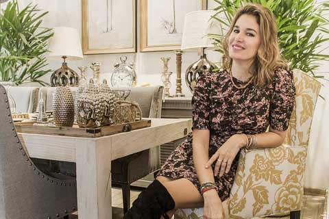 Dolores Barreiro pasó a conocer la nueva colección de Botánica; ¡Qué bien se te ve Dolores en Agustina Cerato Deco!. Foto: gentileza Prensa