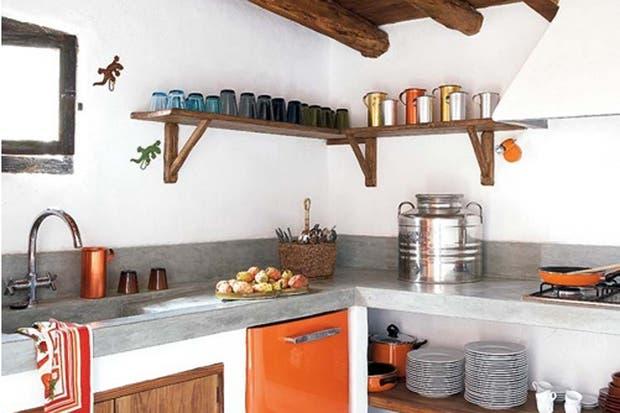 Qu ten s que saber al construir una mesada de - Cocinas con microcemento ...