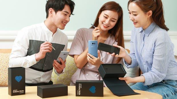 El Galaxy Note 7 Fan Edition es idéntico al anterior salvo por la batería, que tiene menos capacidad
