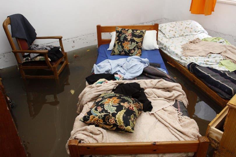 El temporal tuvo un fuerte impacto en la ciudad y el conurbano. Foto: DyN