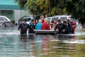 Aún no se confirman la cantidad de muertos tras las inundaciones en La Plata