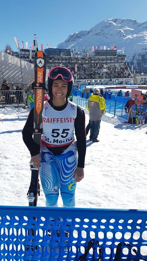 """Salomé Báncora en Sochi 2014. Con los esquí puestos desde los 6 años: """"Si quieren, pueden"""", repite"""
