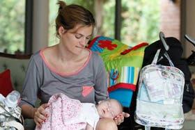 ''Está bueno saber que hay una parte de la maternidad muy difícil'', dice Belén Casserly, mamá de Matilde