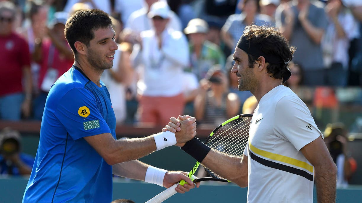 Juan Martín del Potro se impuso en su debut en Indian Wells