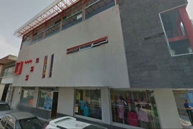 The gym where the crime took place is two blocks away from the Municipal Palace of Ciudad Mendoza