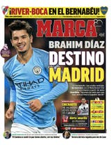 Mark gave more importance to the possible expulsion of Brahim Diaz to Real Madrid