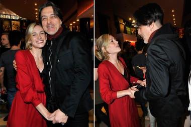 Rocío Irgarzábal también tuvo un emotivo reencuentro con su amigo Esteban Prol, con quien compartió elenco en varias tiras