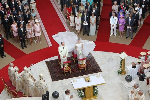 Alberto de Mónaco y Charlene, boda real en el principado