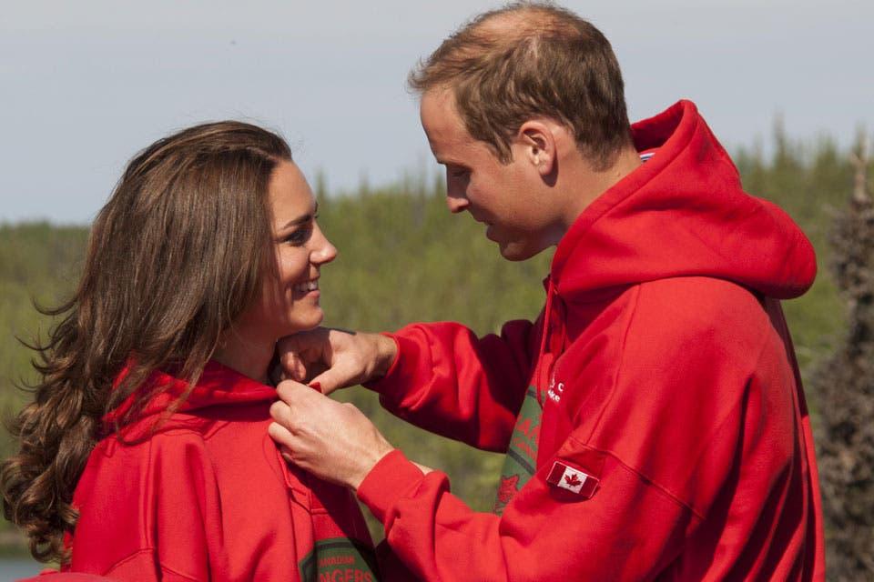 Muy compañeros, tras 8 años de noviazo y uno y medio de matrimonio, la confianza entre los príncipes es enorme.. Foto: /Getty Images