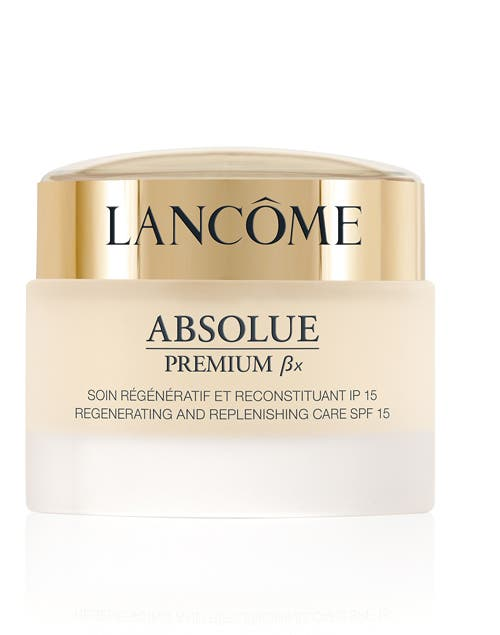 Absolue Premium ßX Regenerating and Replenishing Care SPF 15 (Lancome, $1520).
