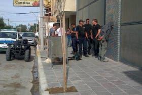 Momento de la detención de Miguel Ángel Pallalaf, presunto asesino de la nena de 11 años
