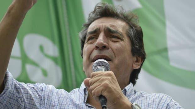 El secretario general de ATE, Hugo Godoy, advierte la precarización laboral en el Estado
