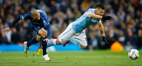 El City del Kun Agüero no aprovechó la ausencia de Cristiano Ronaldo y empató 0 a 0 ante Real Madrid