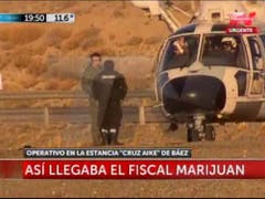 El fiscal Marijuan en la estancia de Lázaro Báez