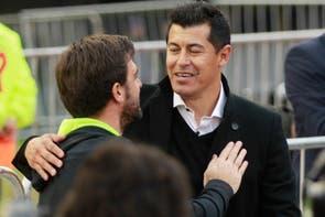 Almirón ganó su primer título, recordó al Rojo y le agradeció a La Volpe