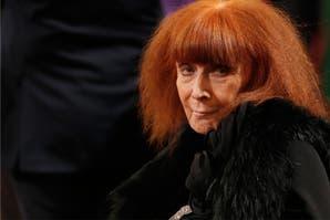 La legendaria SOnia Rykiel falleció a los 86 a causa del Parkinson que padecía hace años