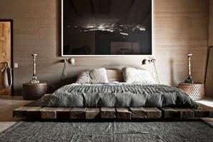 10 estilos para una cama al ras del piso