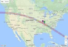 El fenómeno astronómico podrá verse en los Estados Unidos
