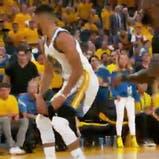 la jugada en la que Stephen Curry puso a bailar a LeBron James