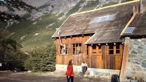 Incendio en un refugio de montaña del Club Andino Bariloche