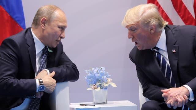 """Trump dijo que él y Putin sostuvieron """"conversaciones muy, muy buenas"""""""