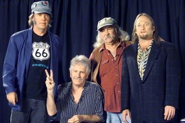 La reunión de Crosby, Stills, Nash and Young de 1999
