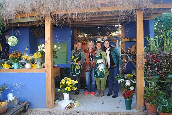 Parte del equipo, Pablo Tevez, Rose Mary Lobert, Cecilia de la Fourniere y Carolina de la Fourniere. Foto: Cecilia Wall