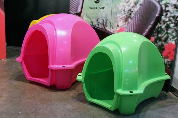 Las cuchas de la marca Ruka están diseñadas con polietileno de alta densidad.  /Matías Aimar