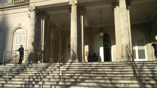 Así están los tribunales de La Plata donde está el despacho del fiscal Cartasegna. Foto: LA NACION / Jerónimo Mura LN