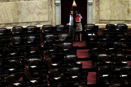 Con 132 legisladores sentados en sus bancas, comenzó poco después del mediodía una jornada clave y maratónica para tratar la iniciativa. Foto: LA NACION / Anïbal Greco
