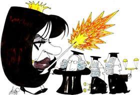 Cristina Kirchner y los jueces