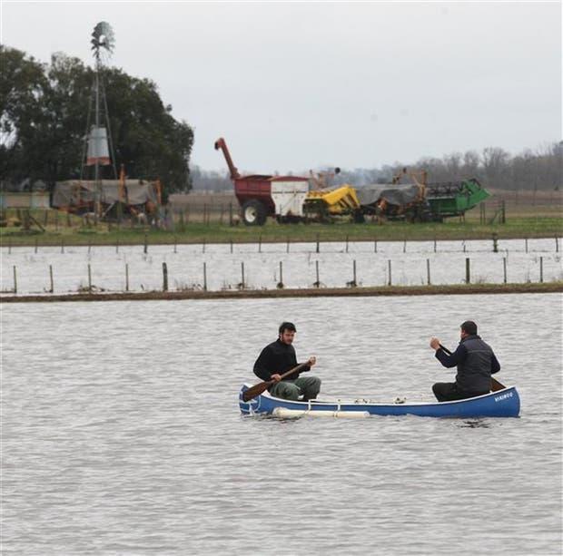 La inundaciones en la región de la Cuenca del Salado suelen afectar a millones de hectáreas