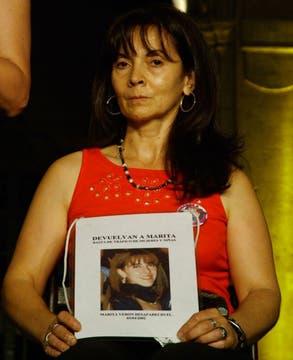 10 años de lucha para recuperar a Marita de las garras de la trata. Foto: Facebook / Susana Trimarco