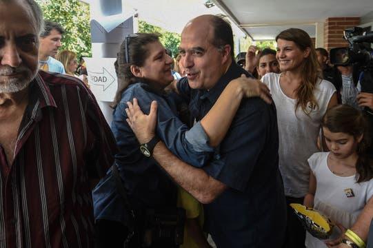 Julio Borges, presidente del parlamento de la oposición. Foto: AFP
