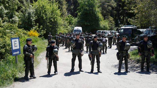 El operativo de seguridad en los alrededores del Llao Llao y Bariloche