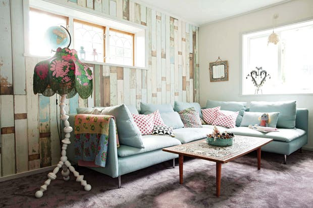 Living Decoracion Revista ~   renovada con colores y detalles alegres  decoraci?n  ESPACIO LIVING